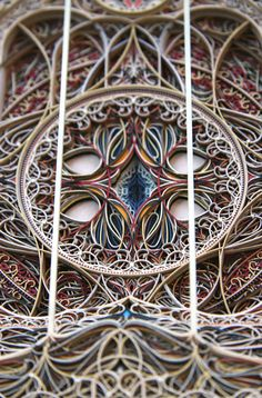 Incredible laser-cut paper art is intricately beautiful