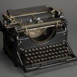 Isaac Bashevis Singer's Yiddish typewriter.