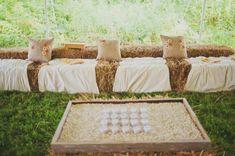 straw, weddings, rustic look, hay bales, bale seat, places, wedding seating, rustic farm wedding, loung