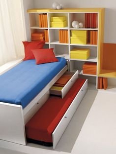 camas nido compactas infantiles