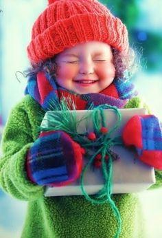 adorable shot for a xmas card