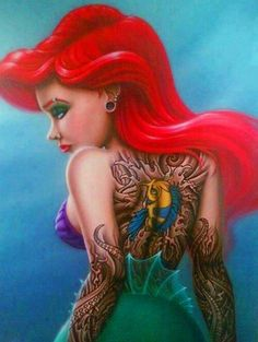 Disney tattoo awesomeness