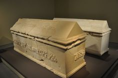 Two sarcophagi found at Herodium