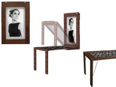 Transformer Furniture: Picture Frame Folding Table