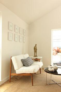 Scandinavian modern living room.