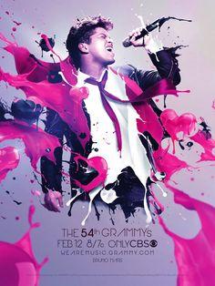 Bruno Mars #WeAreMusic 54th GRAMMY Awards Campaign