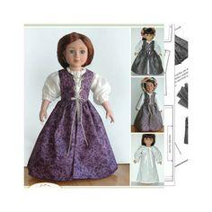 Carpatina Clothes Pattern Doll Renaissance Ensemble