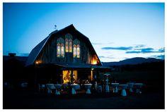 Barn at Evergreen Memorial Park.   #colorado #barn #wedding #venue