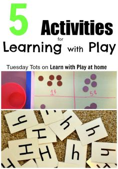 5 Activities for Learning with Play