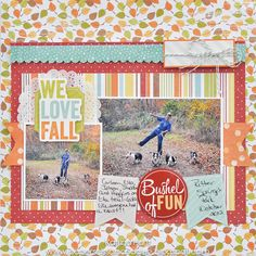 We Love Fall-Katrina Hunt *Imaginisce - Scrapbook.com