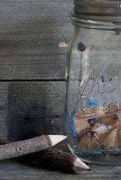 Stay sharp with a creative DIY mason jar pencil sharpener tutorial!   ball jar