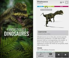 """iPhone apps moved to free today, don't miss the """"Fantastic Dinosaurs"""""""