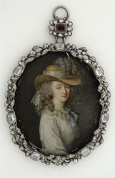 Portrait de la comtesse du Barry by Lavreince. Last quarter 18th century, Paris,  the Louvre.
