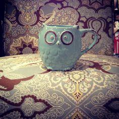 Adorable owl coffee mug at kirklands