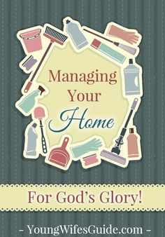 As a homemaker, it's so easy to get caught up in the daily mundane tasks of cook, cleaning, organizing and managing our home. But we should have Gospel intentionality and Kingdom focus when we manage our home. Click here to find out how you can glorify God in your homemaking!