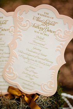 Pink elegant wedding invitations