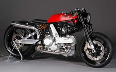 """motographite: DUCATI 900 SS '02 """"FLAT RED"""" by JvB"""