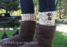 Penelope Rae: Crochet Boot Cuffs- Free Pattern!