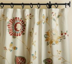 My new curtains for the great room