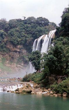 China, Guizhou - Huangguoshu Waterfall