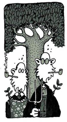 Grant Wood American Gothic de mortimer   Médias et Culture Cartoon   TOONPOOL