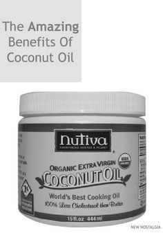 New Nostalgia: The Amazing Benefits Of Coconut Oil + Ways To Use It Topically & In Recipes #health