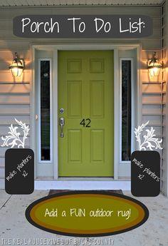 How to paint front door