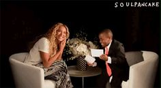 The Kid President interviews Beyonce