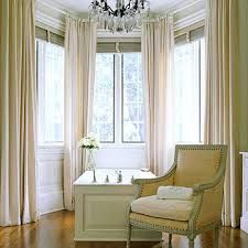 dining rooms, window curtains, curtain rods, bay window treatments, window decorating, decorating ideas, bay windows, chair upholstery, window coverings