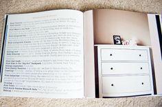 good ideas/inspiration for a baby book. babi book, baby book ideas, babi scrapbook, modern baby book, baby photobook ideas, baby books, baby scrapbook, baby memory book diy, photo book