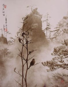 Born in Canton in 1929, Chinese artist Dong Hong-Oai passed away in 2004 at the age of 75. He left behind an incredible volume of work, using pictorialism to create photographs that look like traditional Chinese paintings.
