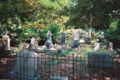 Picture of beautiful old cemeteries -   1700's & 1800's
