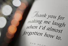 to my wonderful boyfriend