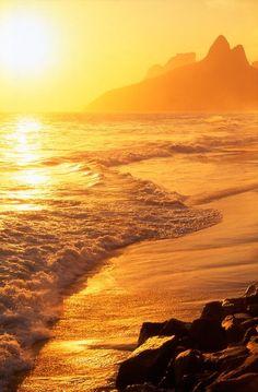 Sunset... in Rio de Janeiro...