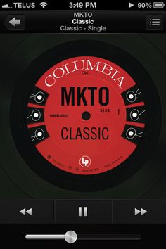 Classic- MKTO LOVE THIS SONG.