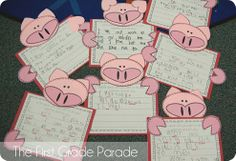 """Use the pig and say """"Be Swine"""" on it. Have the kids drop their Valentines in a grocery bag with the pigs on it!"""