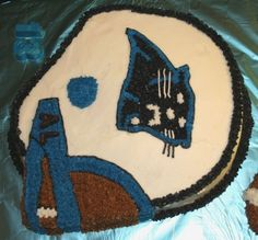 Carolina Panthers By tammy61 on CakeCentral.com