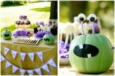 monster party decoration