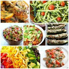 20 Easy and Healthy Dinners to transition you to Spring!! #food #recipes