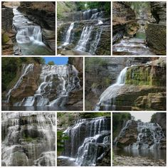 Waterfall Note Cards - Set of 8 cards with envelopes
