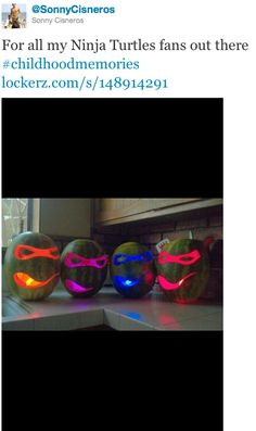 Use glow sticks instead of candle for pumpkins