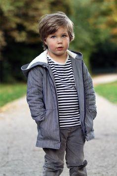 jacket for kids - jacket jakob by silke / schnittchen sewing patterns | Project | Sewing / Kids & Baby | Kollabora #diy #kollabora #sewing #kids #pattern