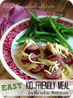 An EASY Kid friendly meal for Moms who are not that FUN!