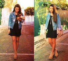 Dress + Jean jacket