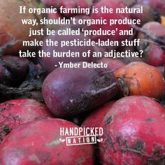 thoughts, food for thought, organic farming, quotes, the real, green, real foods, organic foods, common sense