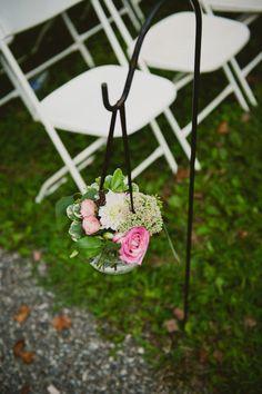 More wedding shepherd hooks!