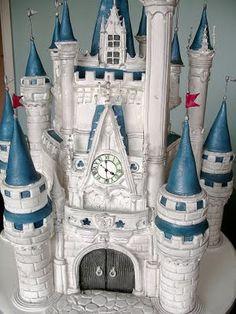 Cinderella's castle birthday cake
