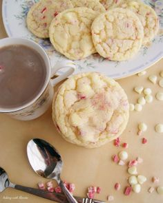 Baking with Blondie : White Chocolate Chip Peppermint Sugar Cookies