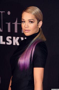 Rita Ora's My Little Pony ponytail