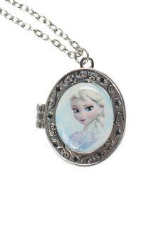 Disney Frozen Elsa Locket Necklace | Hot Topic